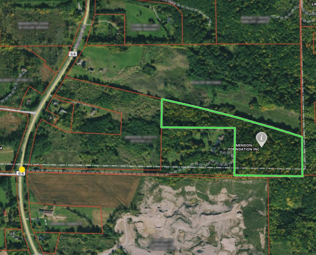[Route 64 Satellite View]