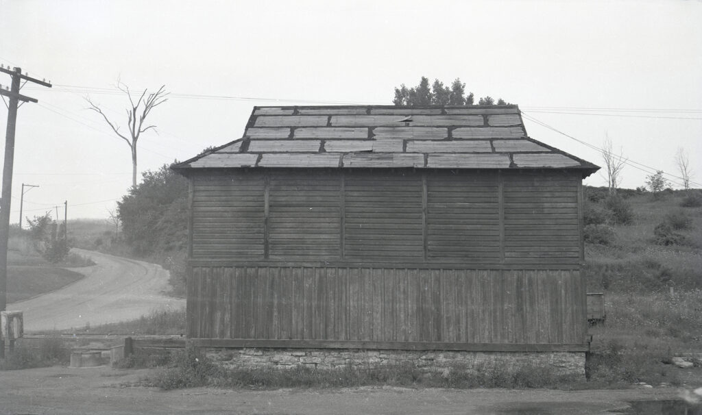 Original LV freight house at Rochester Junction. Collection of Charles Woolever.