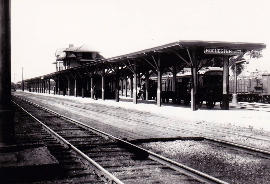 Rochester Junction station. Date and photographer unknown.