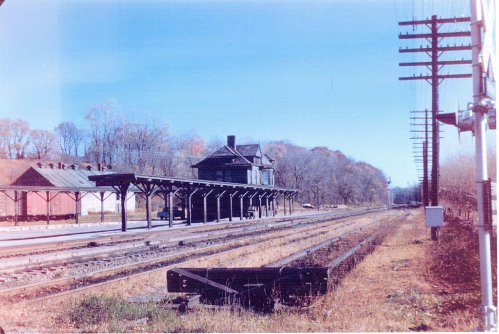 Rochester Junction Station, late 1950s. Douglas Morgan collection.