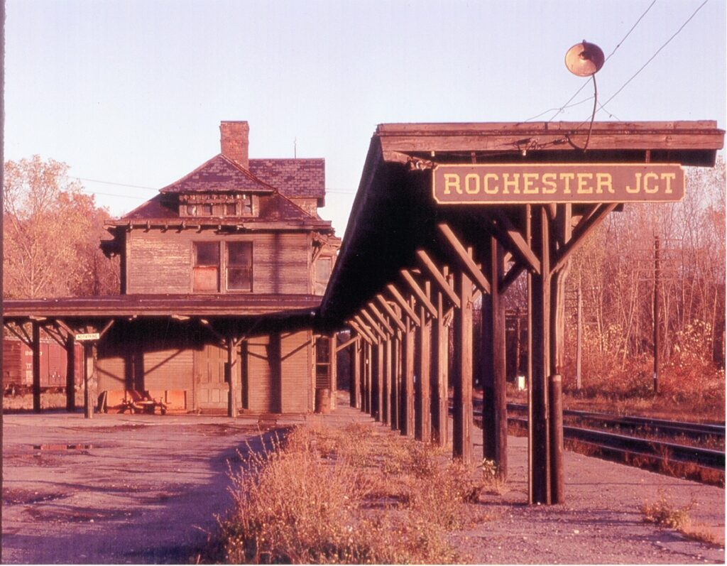 Rochester Junction Station, 1960s. Douglas Morgan collection.