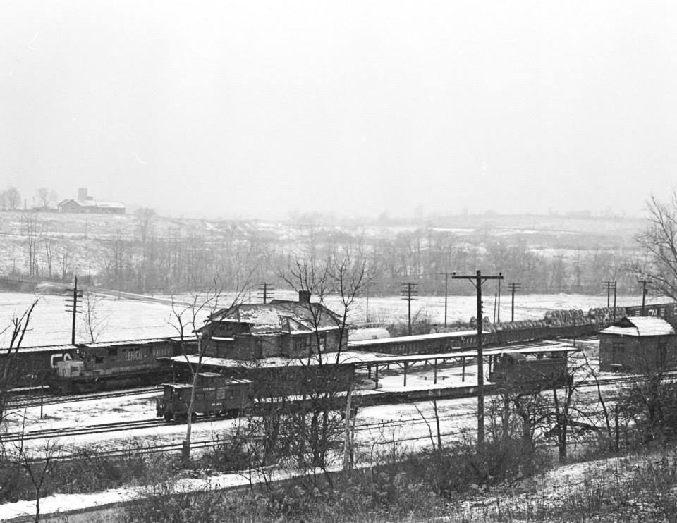 Rochester Jct., Winter, 1973. Paul J. Templeton photo.