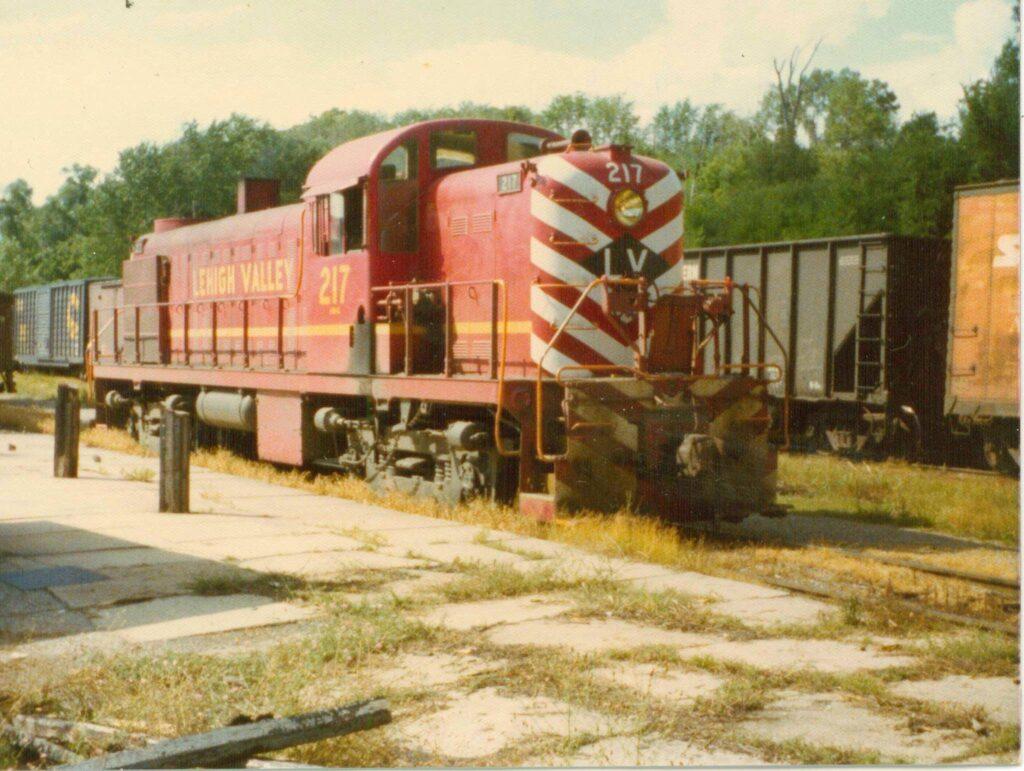 Rochester Junction, July 31, 1974. Phil Dutcher photo.
