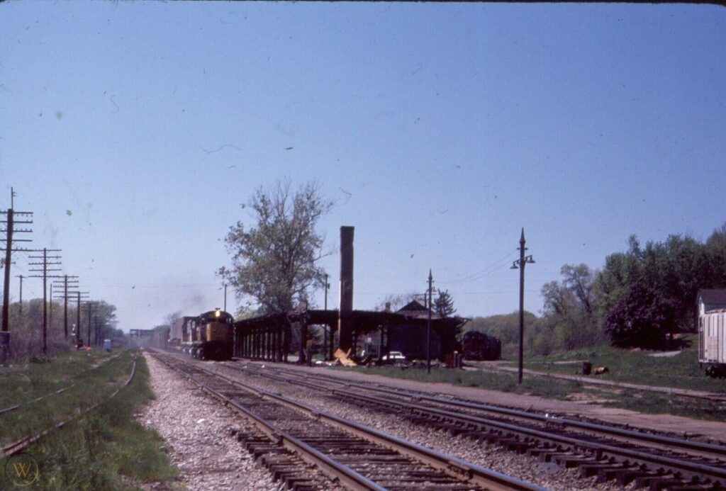 Lehigh Valley at Rochester Junction. Date and photographer unknown.