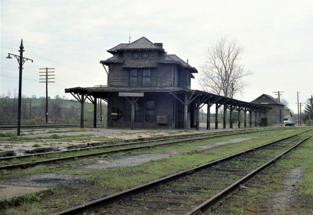 Rochester Junction Station, 1967. John Marshall photo.