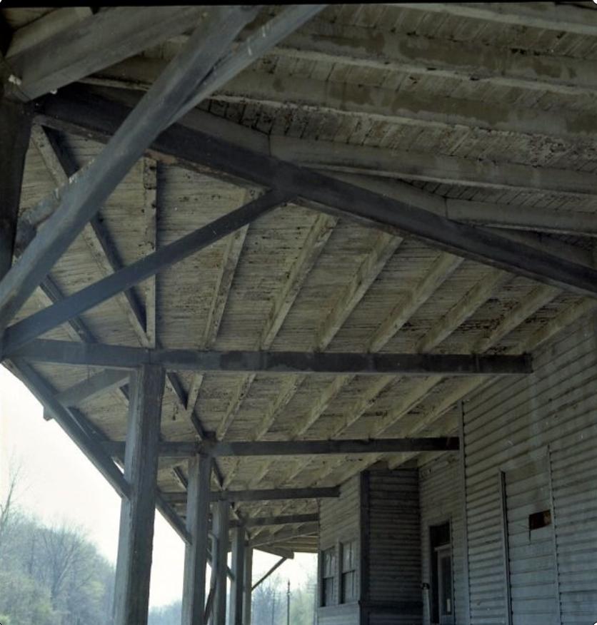 Rochester Junction Station. Rochester branch side. John Marshall photo.