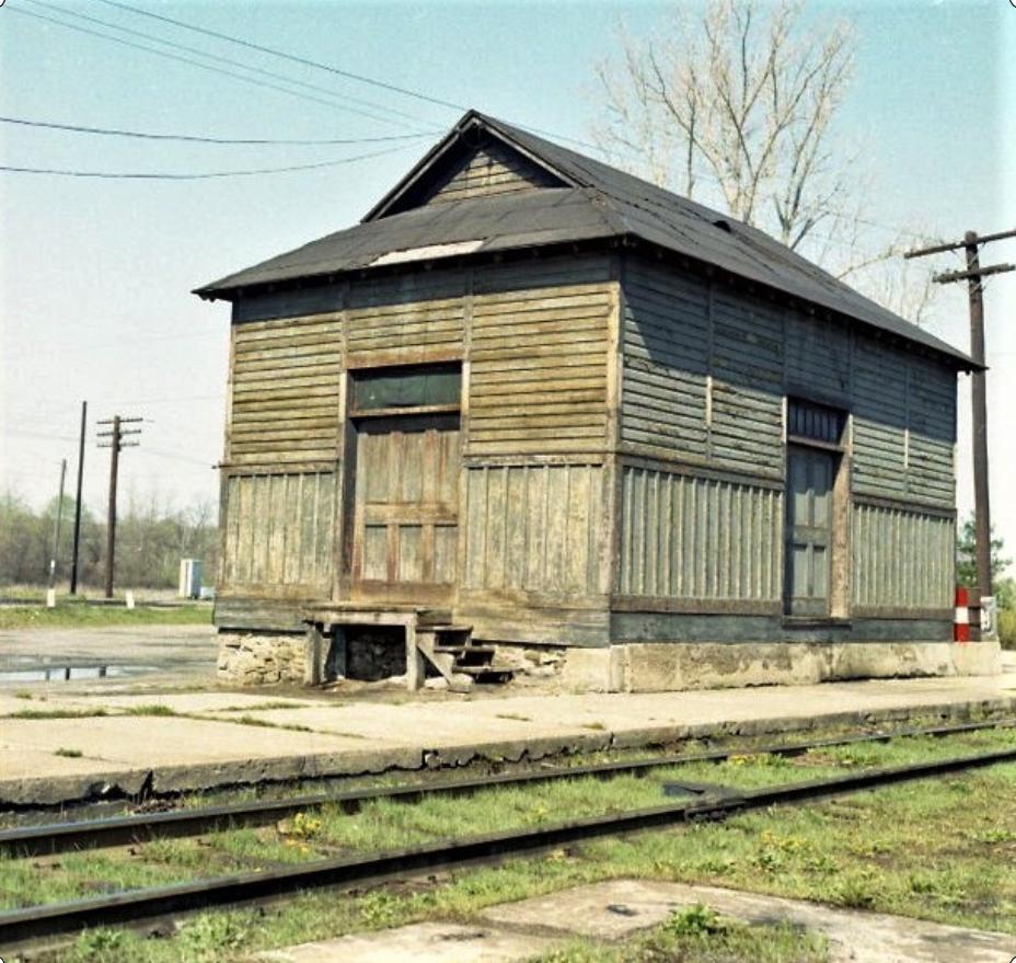 Rochester Junction freight house. John Marshall photo.