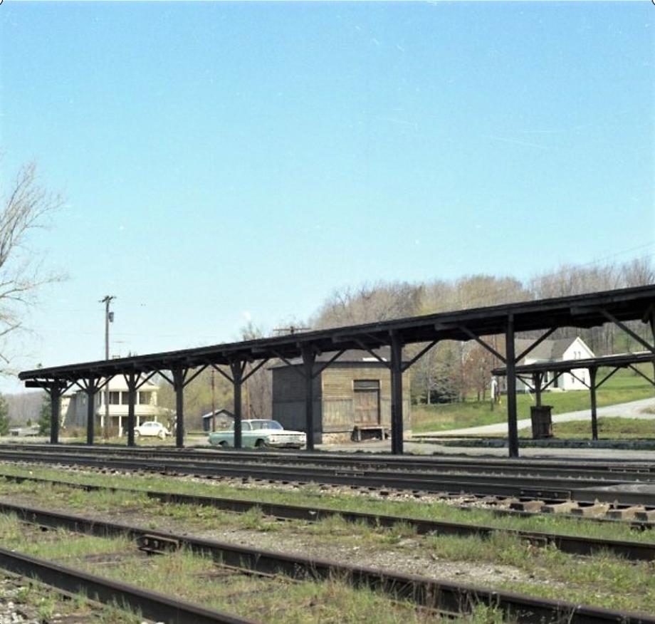 Rochester Junction Station platform. John Marshall photo.