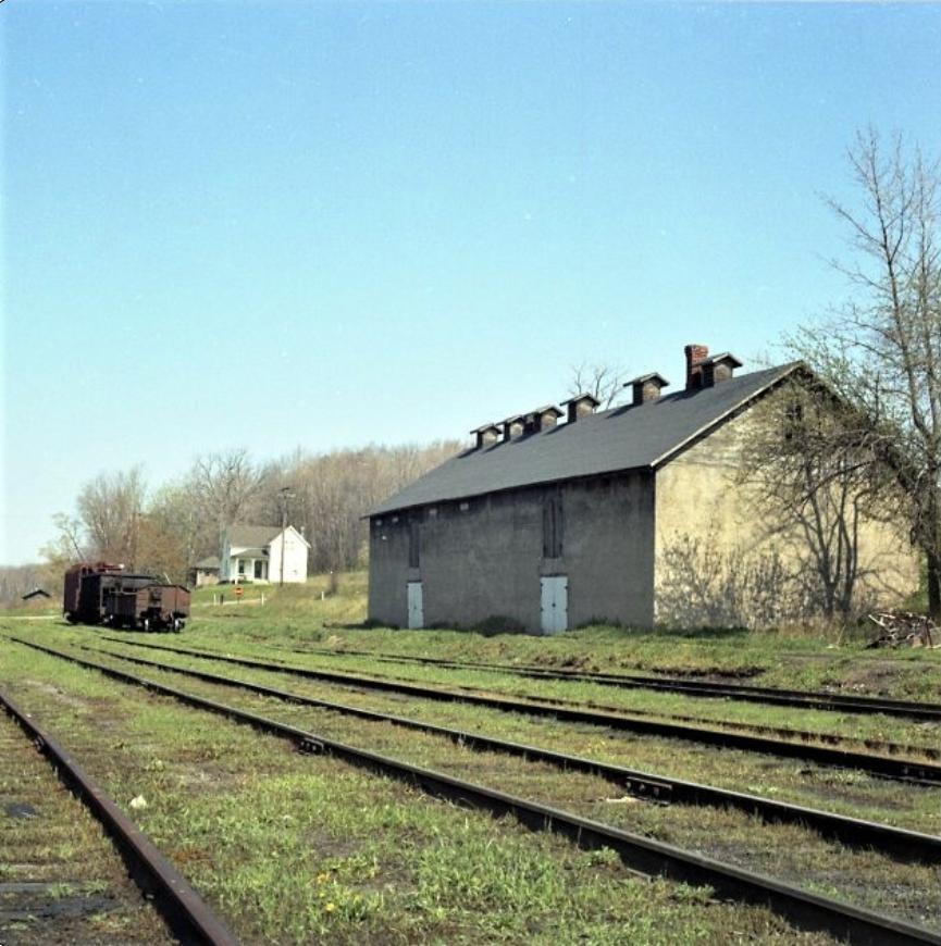 Rochester Junction potato warehouse. John Marshall photo.